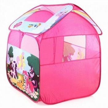 Дисней игровая палатка my little pony в сумке gfa-0059-r/179326