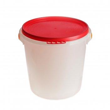 Бак  32л пищевой с герметичной крышкой
