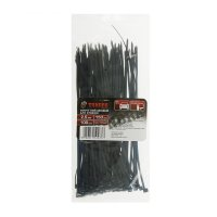 Хомут нейлоновый tundra basic для стяжки 2,5 х 150 мм чёрный (в упаковке 1