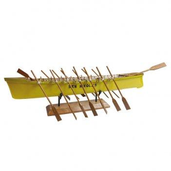Лодка спортивная гребная l 34 см