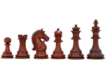 Шахматные фигуры ручной работы честерфильд из падука, 11см