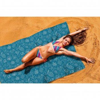 Пляжное покрывало «подводные животные», размер 145 x 200 см