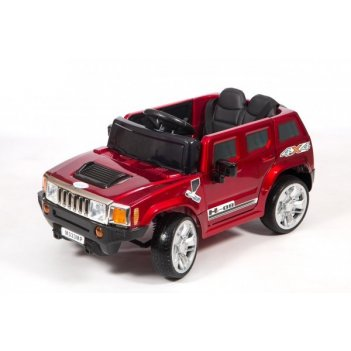 Электромобиль barty м333мр hummer бордовый