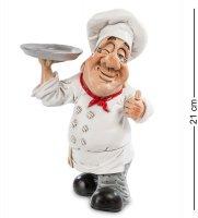 Rv-167 фигурка повар блюдо от шефа (w.stratford)