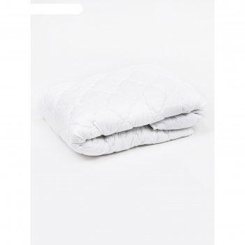 Одеяло лёгкое, размер 140 x 205 см, силиконизированное волокно, холлофайбе