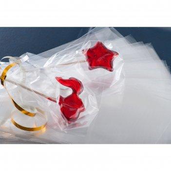 Набор пакетиков для упаковки леденцов 12,5x17 см, 100 шт