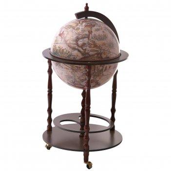 Глобус-бар напольный южный мыс, d 42 см
