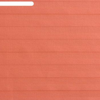 Пододеяльник этель basic 145*215 ± 3см, цв.персиковый, страйп-сатин,135 гр