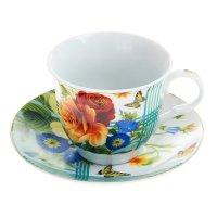 Набор чайный мари, 2 предмета: чашка 250 мл, блюдце