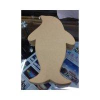 Шкатулочка-пингвин, картон,14х23х3.5 см
