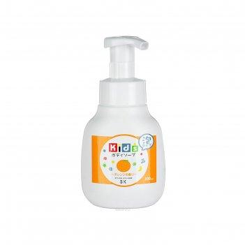 Детское пенное мыло для тела sk kids с ароматом апельсина, 300 мл