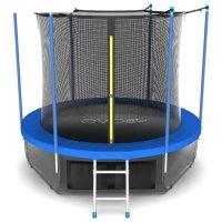 Батут evo jump internal 10 ft, d=305 см, с внутренней сеткой, нижней сетко