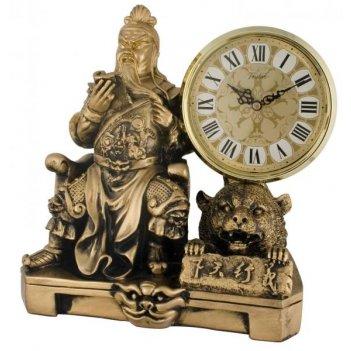 Скульптурные часы из полимерных смол восток 8396-1
