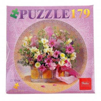 Пазлы букет цветов, 179 элементов