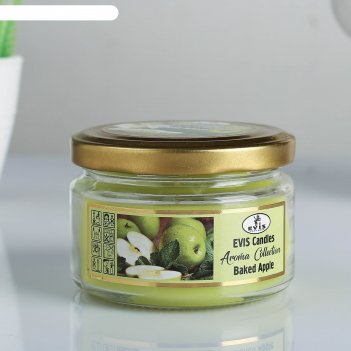 Свеча в банке baked apple, ароматизированная, 315 г