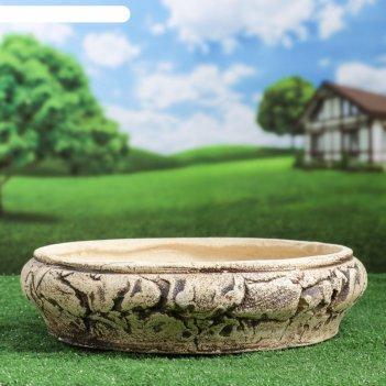Горшок для цветов бонсай шамот