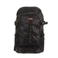 Рюкзак туристический джон, 2 отдела, 1 наружный и 2 боковых кармана, чёрны