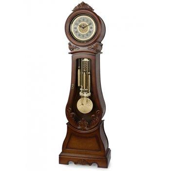 Механические напольные часы columbus ch-9010 с механизмом hermle