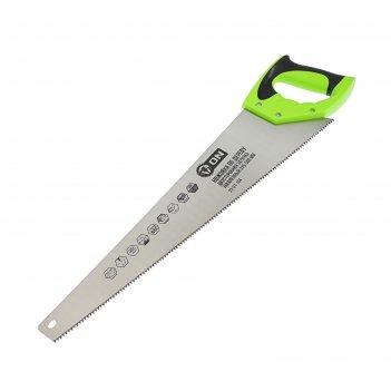 Ножовка по дереву on 03-01-104, двусторонняя заточка, закаленный зуб, 500