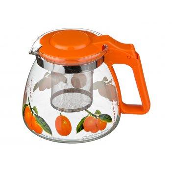 Заварочный чайник с фильтром 900 мл.