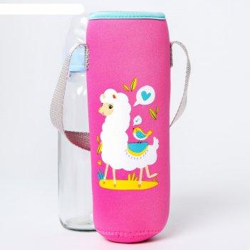 Термосумка для бутылочки лама
