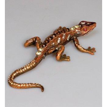 Jb-110 шкатулка геккон