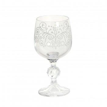 Набор бокалов для вина curves, 6 шт., 190 мл