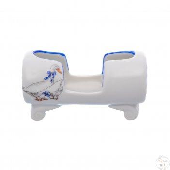 Подставка для зубочисток dubi гуси 8см