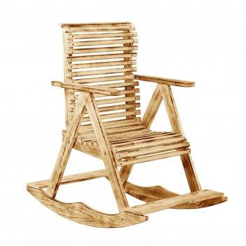 Кресло-качалка 70х110х90см, термо липа добропаровъ