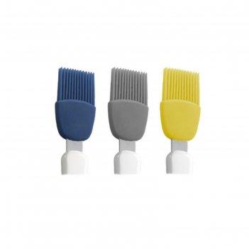 Щетка кондитерская силиконовая, цвет микс