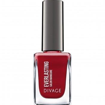 Гелевый лак для ногтей divage, nail polish everlasting g, цвет № 20