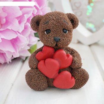 Мишка с сердцами 9946