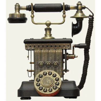 Ретро-телефон the splender lauren phone pb-1905e