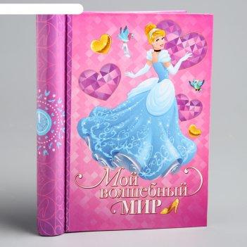 Фотоальбом на 10 магнитных листов мой волшебный мир, принцессы: золушка
