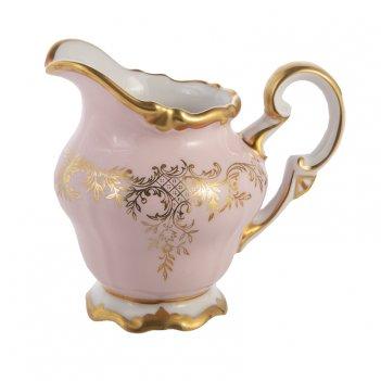 Молочник 250мл.ювел розовый