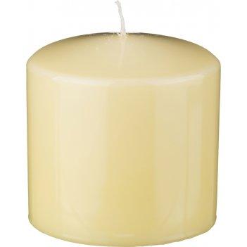 Свеча высота=10 см.диаметр=10 см.лимонная