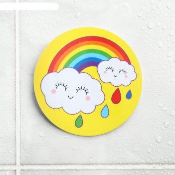Наклейка для игры в ванной «радуга»