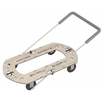Тюбингмобиль, универсальная платформа  small rider transporter, 100x55 cм