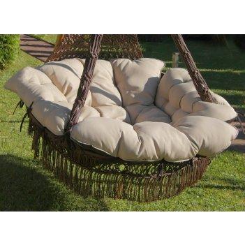 Подвесное кресло качели cartagena  (коричневый)