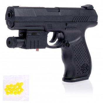 Пистолет пневматический сиг, с фонариком и лазером