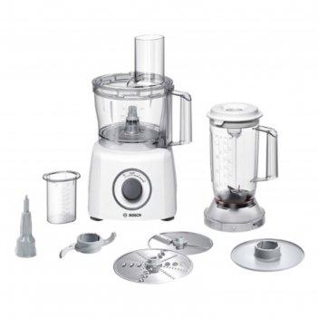 Кухонная машина bosch mcm 3200w white, 800 вт, 2.3/1 л, 2 скорости, 3 наса