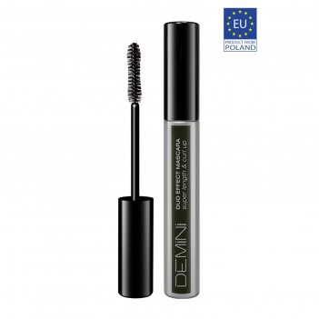 Тушь для ресниц demini duo effect mascara super lenght & curl up