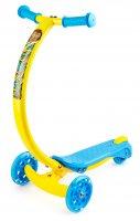 Трехколесный самокат zycom zipster со светящимися колесами обезьянка
