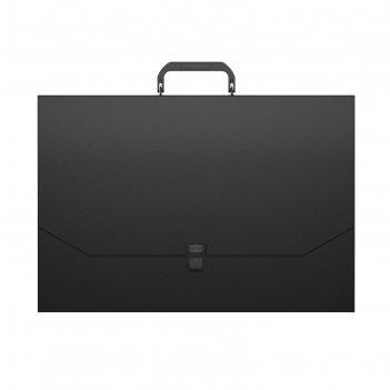 Папка-портфель а3 erichkrause matt classic черный 50436