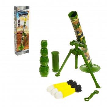 Миномет молот, 3 ракеты со световыми и звуковыми эффектами в комплекте