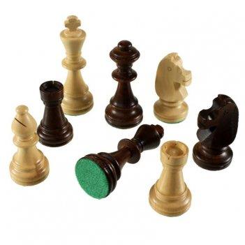 Шахматные фигуры стаунтон 4 в полиэтиленовой упаковке, madon