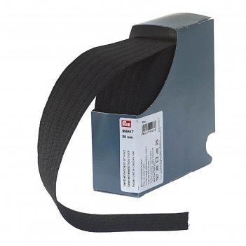 Эластичная лента для уплотнения шва 50 мм*10м, цвет черный