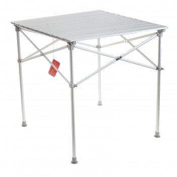 Стол складной grifon premium, 70х70х72 см, алюминий, чехол