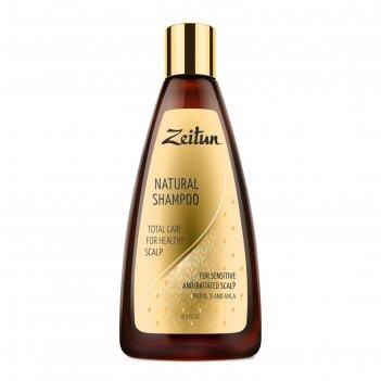 Шампунь для волос zeitun «комплексный уход для здоровья кожи головы» с про
