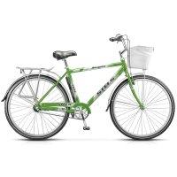 Велосипед 28 stels navigator-380 gent, размер 20, цвет: чёрный/зелёный